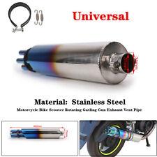 Stainless Steel Universal Silencer Motorcycle Exhaust Muffler Slip-On Escape Kit