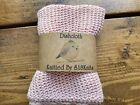 3 Eco Cotton Dishcloths / Facecloth Sustainable