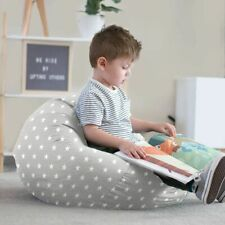 Small Kids Stars Beanbag - Ready Filled, Machine Washable, Personalise With Name