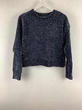 Womens Ladies Knit Sweater Grey New Look Size S UK *SJ