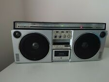 General Electric 3-6000A Super Stereo Sound Fm/Am Cassette Boombox