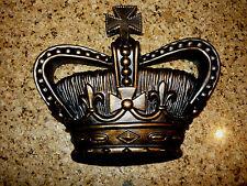 Crown, Wall Plaque, Old World, Medieval, Cross, Fleur de Lis, Princess, Handmade