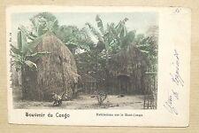 CONGO - SOUVENIR DU ... - HABITATIONS SUR LE HAUT-CONGO - DND