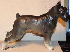 Schnauzer Dog Grey China Lefton China Porcelain, Beautiful