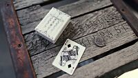 TUNDRA Artifice MINI DECK Ellusionist Bicycle Playing Cards white Magic Trick