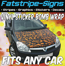HYUNDAI COUPE VINYL STICKER BOMB BONNET WRAP CAR GRAPHICS DECALS STICKERS