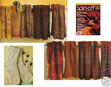 Spin-off magazine fall 2009: fall leaves shawl, wolf, sock