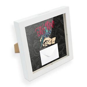 itenga Geldgeschenk Bilderrahmen Füllen Tattoo Umschlag Karte Geschenkverpackung