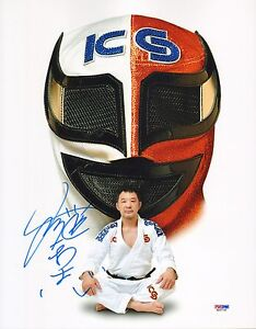 Kazushi Sakuraba Signed 11x14 Photo PSA/DNA UFC Pride New Japan Pro Wrestling 1