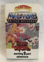 Car-tunes 1986 Masters Of The Universe Cassette Tape Secret Of The Sword Rare