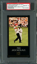 1997-98 GRAND SLAM VENTURES GOLF MASTERS GOLD FOIL JACK NICKLAUS (1965) PSA 8