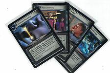 Star Trek CCG Decipher 2nd To Boldly Go  : 3x Rare Cards freie Auswahl Lot