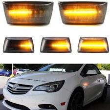 2x Dynamic Side Marker LED Blinker Light For Opel Adam Astra H GTC VXR Corsa D E