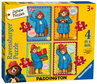 06893 Ravensburger Paddington Bear Jigsaw 4 in Box Puzzle Children Age 3+
