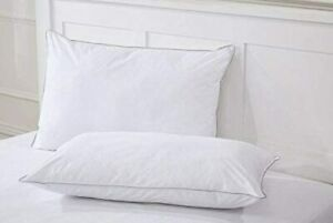 Duck Feather & Down Pillow Extra Filled Hotel Quality Pillow 2, 4, 6