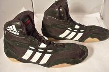 Rare Vintage Adidas Tyrint Wrestling Shoes Sz 12.5 Blk/Wht 665361