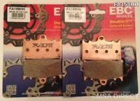 EBC Sintered FRONT Disc Brake Pads (2 Sets) Fits SUZUKI GSXR750 (2000 to 2003)