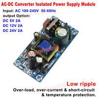 Mini AC-DC Converter AC110V 220V 230V to DC 5V 12V 24V 2A Switching Power Supply