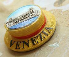 Italien Venedig Reiseandenken Souvenir 3D HUT Polyresin Kühlschrankmagnet Magnet