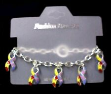 Autism Toggle Bracelet Aspergers Puzzle Awareness Ribbon Charms New