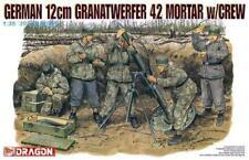 Dragon 1/35 Scale Kit German 12cm Granatwerfer 42 Mortar W/Crew With Crew 6090