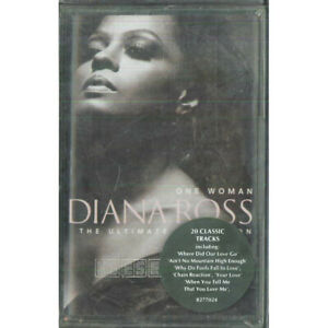 Diana Ross MC7 One Woman The Ultimate Collection / EMI – 8 27702 4 4 Sigillata