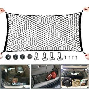 Car Boot Elastic Large Net Luggage Storage Mesh Pickup String Holder Pocket