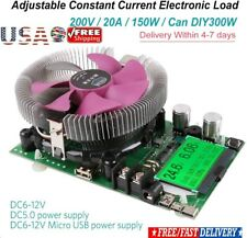 150W 200V 20A Constant Current Electronic Load Battery Discharge Capacity Tester