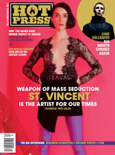 Hot Press Magazine November 2017 St Vincent Ezra Miller Liam Gallagher
