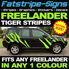 LAND ROVER FREELANDER Tiger Stripes VINILE ADESIVI DECALCOMANIE GRAFICHE 4x4 Offroad