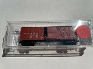 N SCALE Micro Trains NMRA Heritage Great Gulch (96-27) 40'wood boxcar #77569