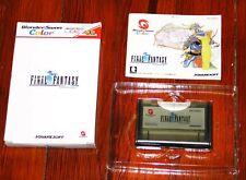 Final Fantasy I 1 Wonderswan Color COMPLETE in box CIB with box/manual Bandai