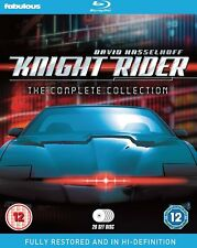 KNIGHT RIDER (1982-1986): COMPLETE Hasselhoff RESTORED ORIGINAL Series UK BLURAY