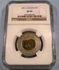 2012 $2 CANADA NGC SP69 POLAR BEAR REVERSE PROOF SPECIAL EDITION SP 69