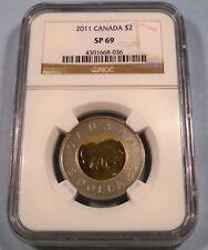2012 $2 CANADA NGC SP69 POLAR BEAR REVERSE PROOF SPECIAL EDITION SP 69
