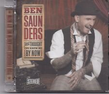 Ben Saunders-You Thought You Know Me By Know cd album