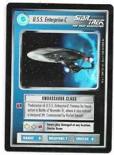 Star Trek CCG Reflections: U.S.S. Enterprise-C Very-Rare Foil Card !