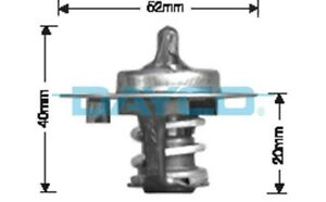 Thermostat for Mitsubishi Starion 4G63T Dec 1985 to Aug 1987 DT27G