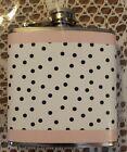1 Gartner Studios Stainless Steel Flask 5.8 fl oz (pink & white striped)