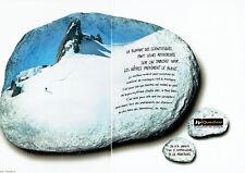 Publicité Advertising 108  2002    vetements ski  Quechua Decathlon  (2pages)