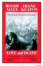 LOVE AND DEATH Movie POSTER 11x17 B Woody Allen Diane Keaton Georges Adel Despo