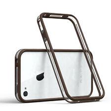 Bumper para Apple iPhone 4/4s funda Cartera, funda protectora, funda, protección marrón