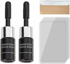 Automotive Glass Nano Repair Fluid Repair Resin Cracked Glass Corrector Set 2pcs