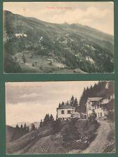 TRENTINO. VETRIOLO, Alto Adige, Trento. Due cartoline d'epoca viaggiata nel 1908