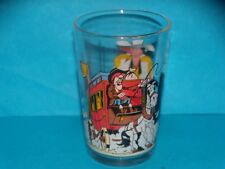 VERRE MOUTARDE SERIGRAPHIE - COLLECTION  LUCKY LUCKE N°  7 - DILLIGENCE - 1996