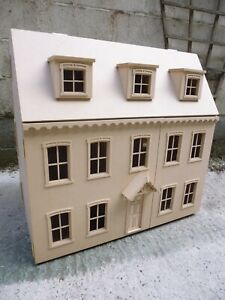 """1/12 Dolls House  Radcliff House 6 rooms 30"""" Kit by Dolls House Direct"""