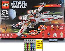 LEGO Star Wars - 6212 X-Wing Starfigher NISB Luke Skywalker R2-D2 Minifigure