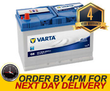 Varta G8 Heavy Duty High Power Car Battery - UK Part 250 / 250H - 4 Yr Warranty
