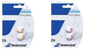 New Babolat Cosmic Damp Vibration Dampener (2x) Tennis Dampner