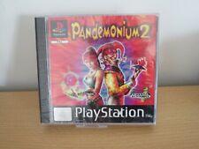 Pandemonium 2 (PS1) new sealed euro  pal version